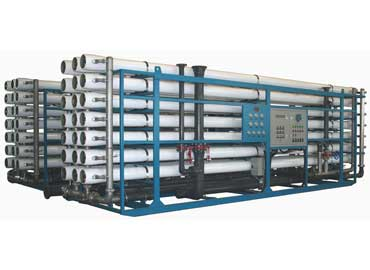 Industrial reverse osmosis system for 150 m3/h