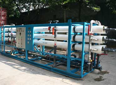 Industrial reverse osmosis system for 30 m3 / h