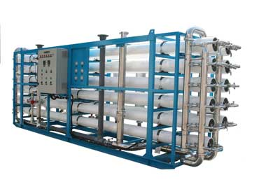 Industrial reverse osmosis system for 66 m3/h